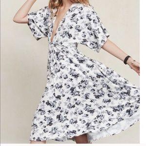 Reformation Floral Dress C16